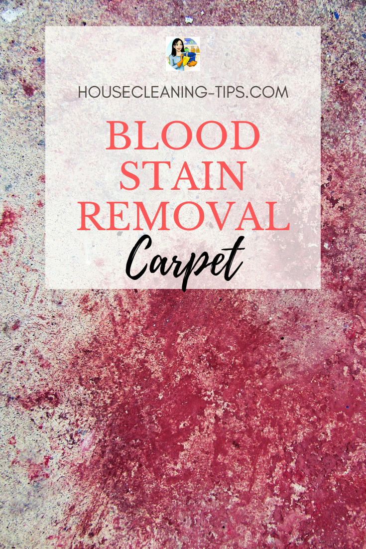 Four Blood Stain Removal Techniques
