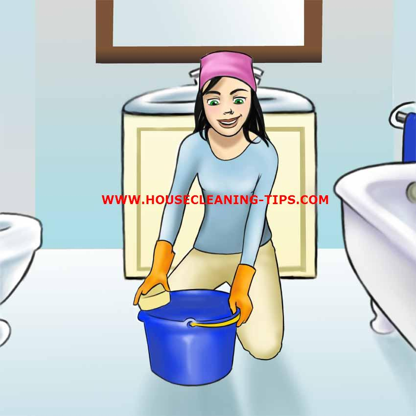 Tips for cleaning a bathroom How to clean bathtub